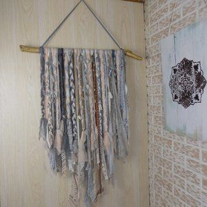❤Large boho hand crafted unique wall hang